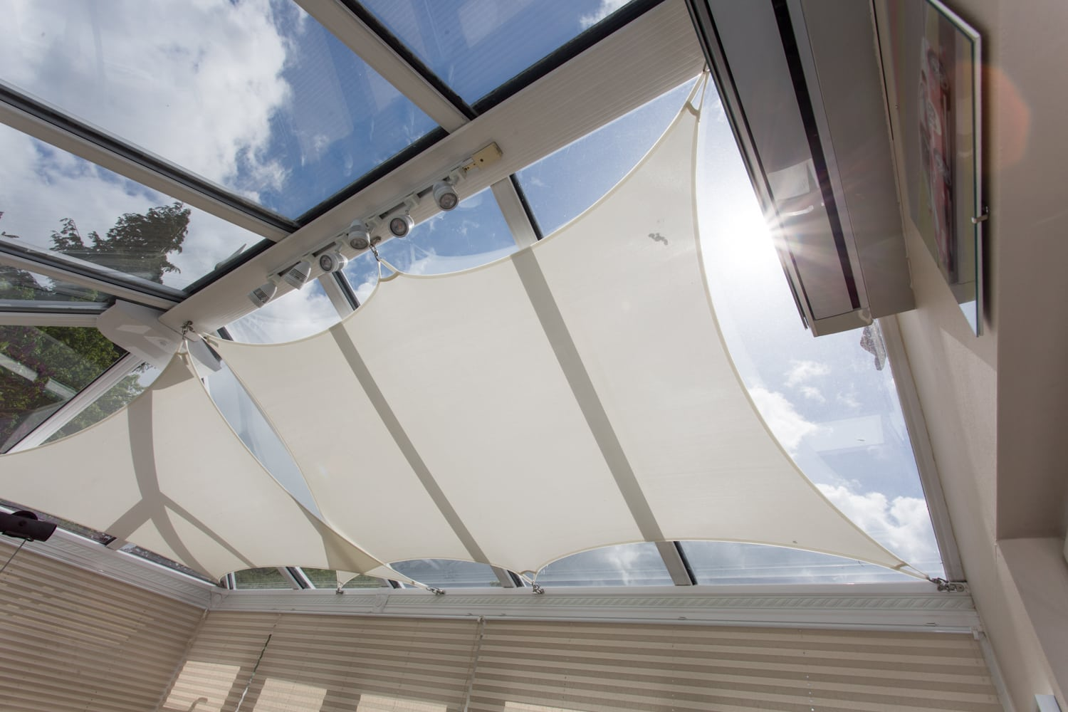 Shade Sails Project Blinds